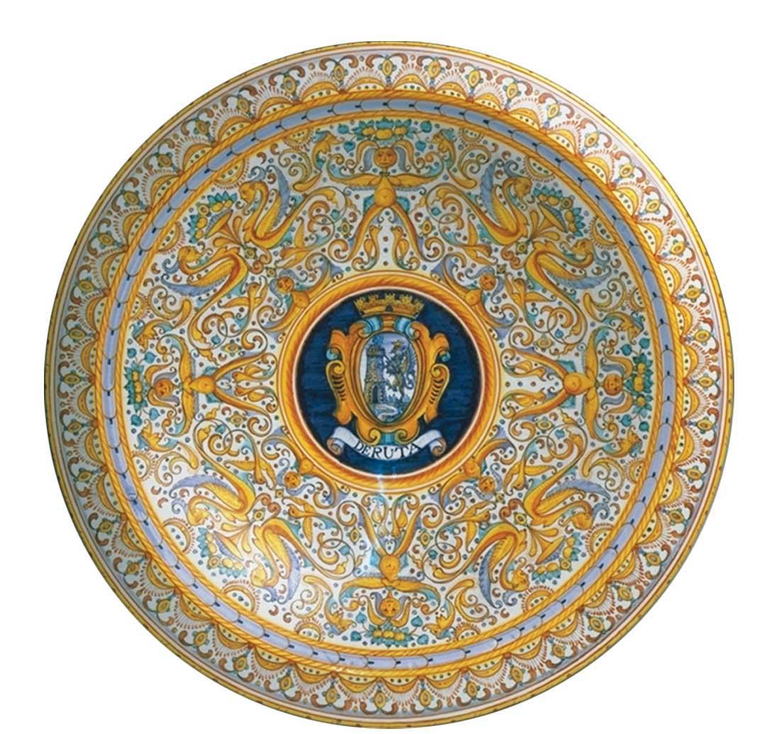 Museo Della Ceramica Di Deruta.Panoramica A 360 Di Un Piccolo Comune Ricco Di Storia
